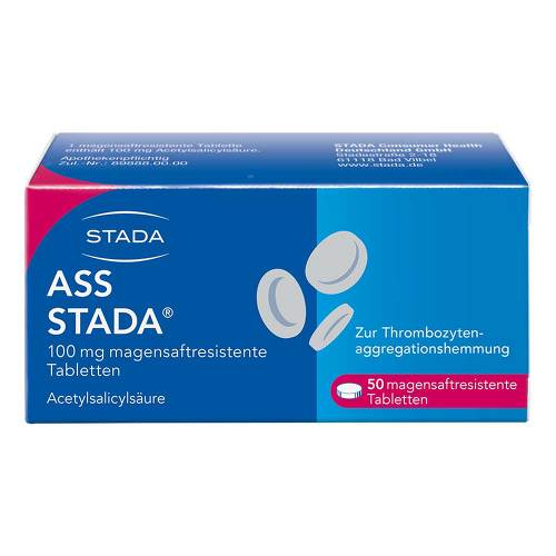 ASS STADA 100 mg magensaftresistente Tabletten - 1