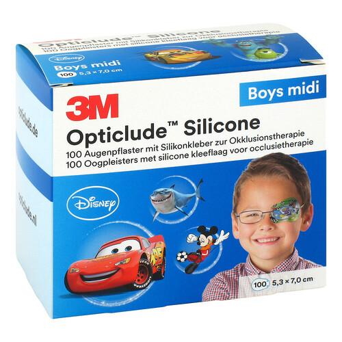Opticlude 3M Silicone Disney Boys midi 5,3x7 cm - 1