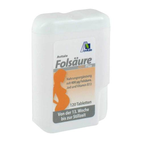 Folsäure 400 Plus B12 + Jod Tabletten - 2