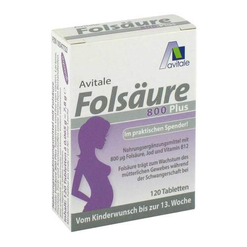 Folsäure 800 Plus B12 + Jod Tabletten - 3