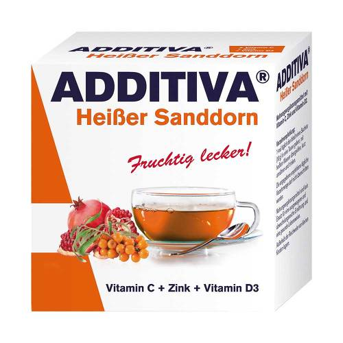Additiva Heißer Sanddorn Pulver - 1