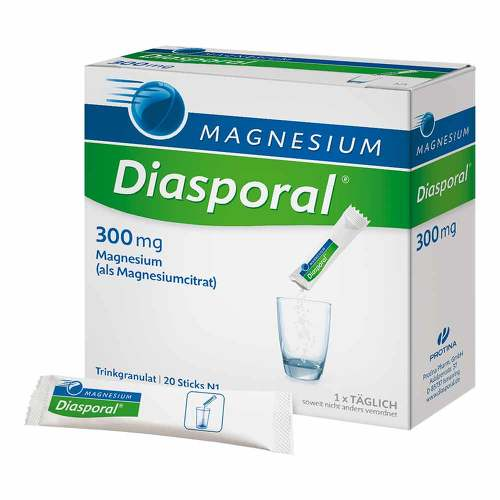 Magnesium Diasporal 300 mg Granulat - 1