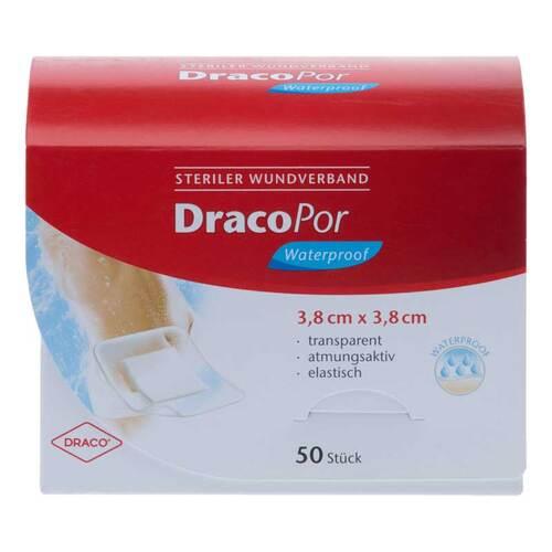 Dracopor waterproof Wundverband 3,8x3,8 cm steril - 1