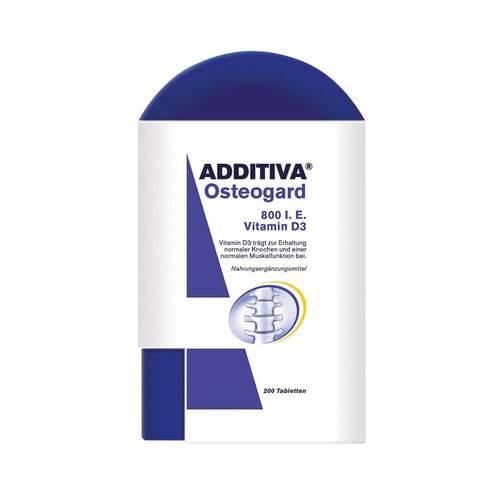Additiva Osteogard 800 I.E. Vitamin D3 Tabletten - 1