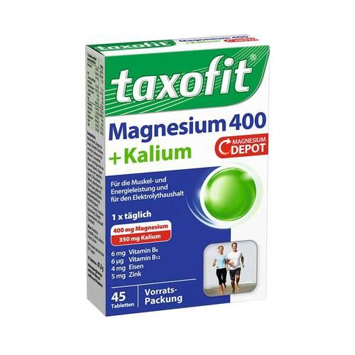 Taxofit Magnesium 400 + Kalium Tabletten - 1