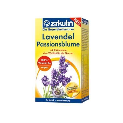 Zirkulin Lavendel Passionsblume Kapseln - 1