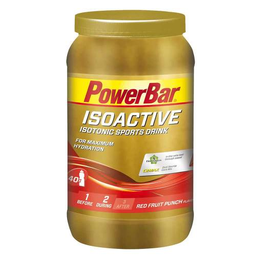 Powerbar Isoactive Drink Red Fruit Punch Pulver - 1