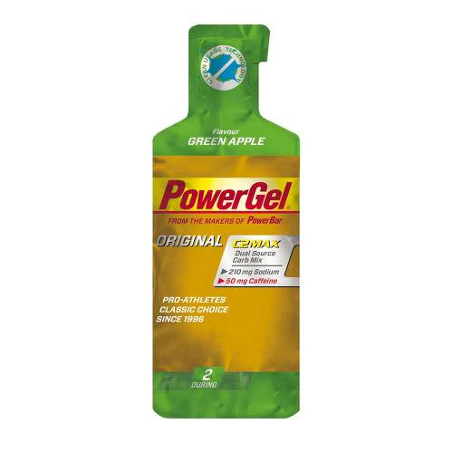 Powerbar Powergel Green Apple + Koffein - 1