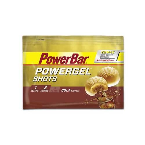 Powerbar Powergel Shots Cola mit Koffein Bonbons - 1