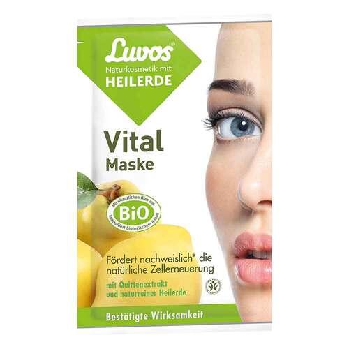 Luvos Naturkosmetik Heilerde Vital Maske - 1
