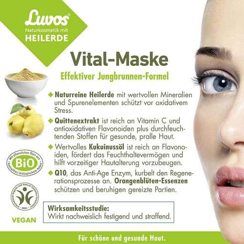 Luvos Naturkosmetik Heilerde Vital Maske - 4