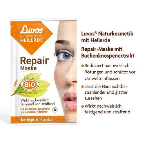Luvos Naturkosmetik Heilerde Repair Maske - 2