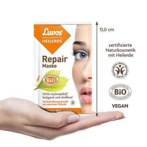 Luvos Naturkosmetik Heilerde Repair Maske - 3