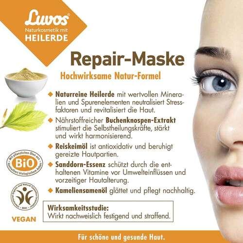 Luvos Naturkosmetik Heilerde Repair Maske - 4