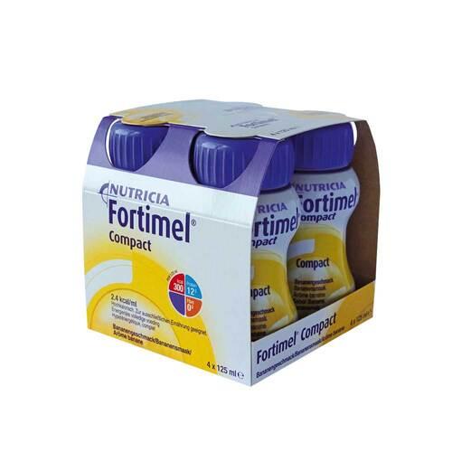 Fortimel Compact 2.4 Bananengeschmack - 1