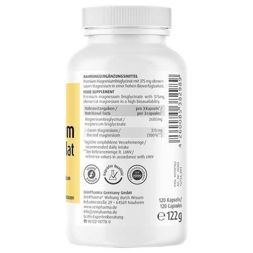 Magnesium Chelat Kapseln hoch bioverfügbar - 3