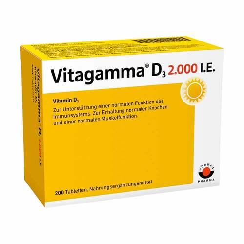 Vitagamma D3 2.000 I.E. Vitamin D3 NEM Tabletten - 1