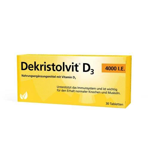 Dekristolvit D3 4.000 I.E. Tabletten - 1