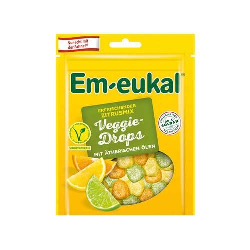 EM Eukal Veggie-Drops erfrischender Zitrusmix zuckerhaltig - 1