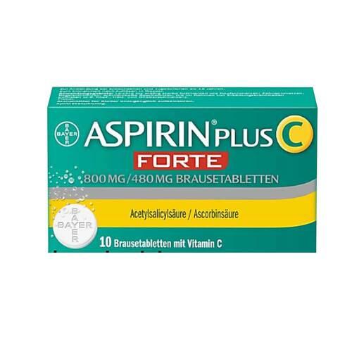 Aspirin plus C forte 800 mg / 480 mg Brausetabletten - 1