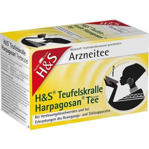 H&S Teufelskralle Harpagosan-Tee Filterbeutel - 1