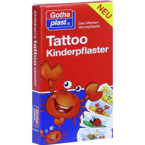 Tattoo Kinderpflaster 25x57 mm - 1