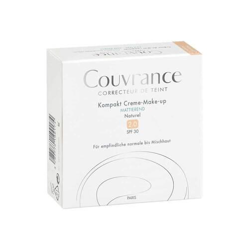 Avene Couvrance Kompakt Creme-Make-up mattierend 02 Naturel - 2