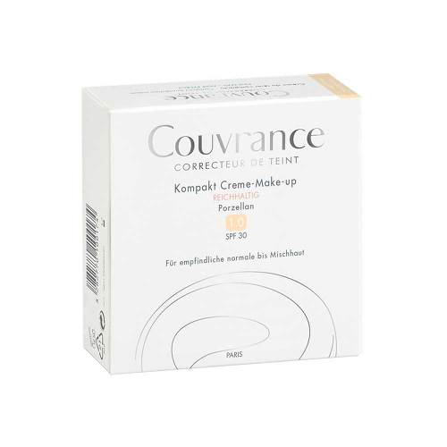 Avene Couvrance Kompakt Creme-Make-up reichhaltig 01 Porzellan - 2