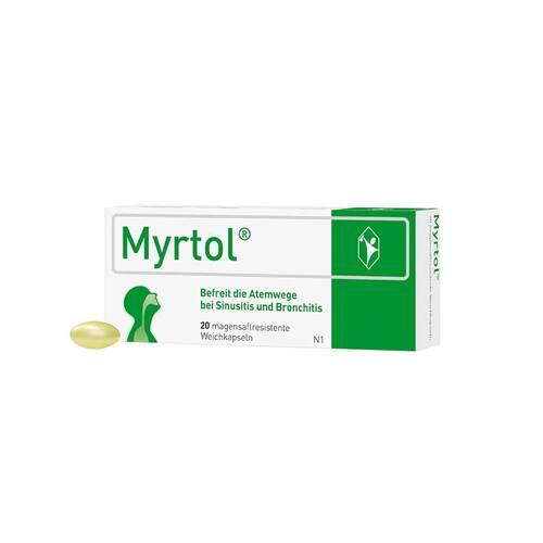 Myrtol magensaftresistente Weichkapseln - 1