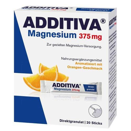 Additiva Magnesium 375 mg Sticks Orange - 1