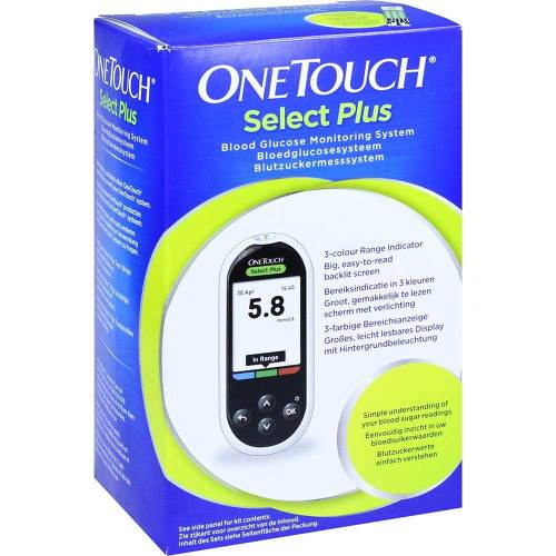 One Touch Selectplus Blutzuckermesssystem mmol / l - 1