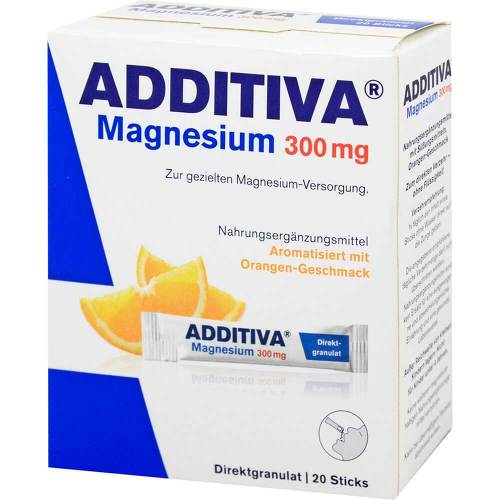 Additiva Magnesium 300 mg Sticks Orange N - 1