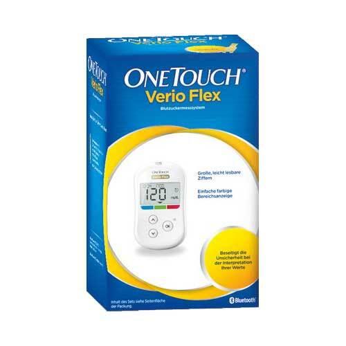 One Touch Verio Flex Blutzuckermesssystem mg / dl - 1