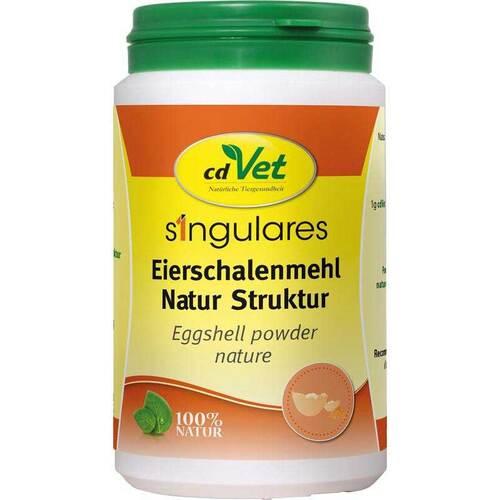 Singulares Eierschalenmehl Natur Struktur vet. (für Tiere) - 1