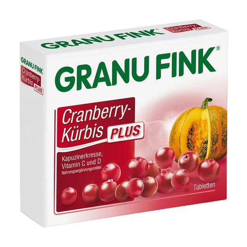 Granu Fink Cranberry-Kürbis Plus Tabletten - 1