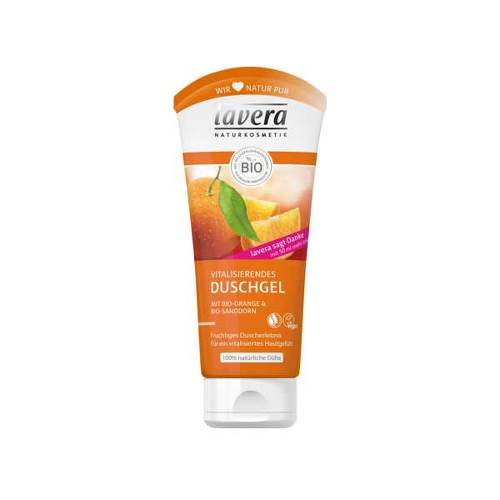 Lavera Duschgel Bio-Orange & Bio-Sanddorn - 1
