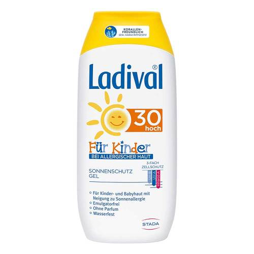 Ladival Kinder allergische Haut Gel LSF 30 - 1