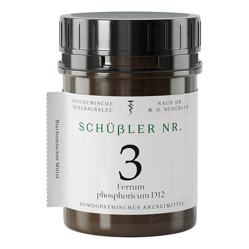 Schüssler Nr.3 Ferrum phosphoricum D 12 Tabletten - 1