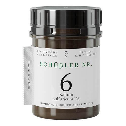 Schüssler Nr.6 Kalium sulfuricum D 6 Tabletten - 1