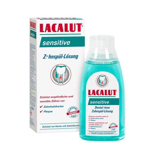 Lacalut sensitive Zahnspül-Lösung - 1