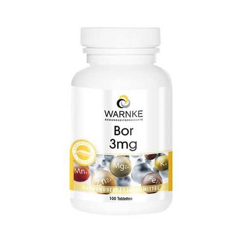Bor 3 mg Tabletten - 1