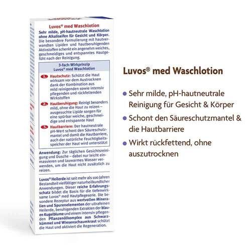 Luvos Naturkosmetik Med Wasch- und Duschlotion - 3