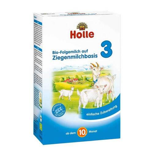 Holle Bio Folgemilch 3 auf Ziegenmilchbasis Pulver - 1