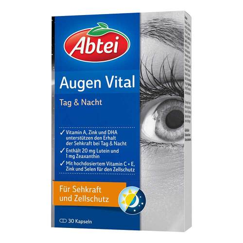 Abtei Augen Vital Tag & Nacht Kapseln - 1