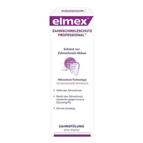 Elmex Zahnschmelzschutz Professional Zahnspülung - 1