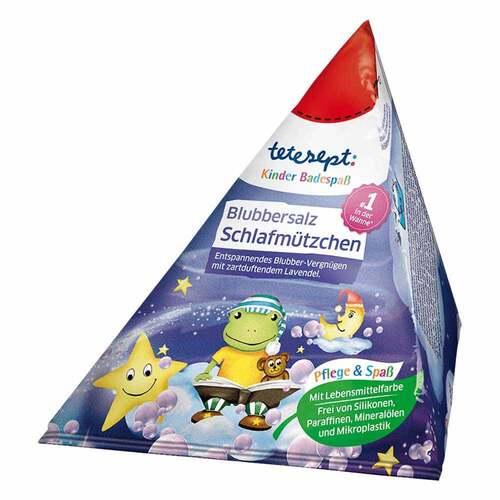 Tetesept Kinder Badespaß Blubbers.Schlafmützchen - 1