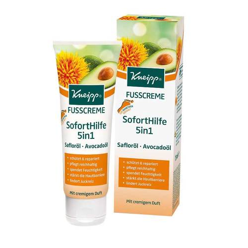 Kneipp Fußcreme Soforthilfe 5in1 - 1