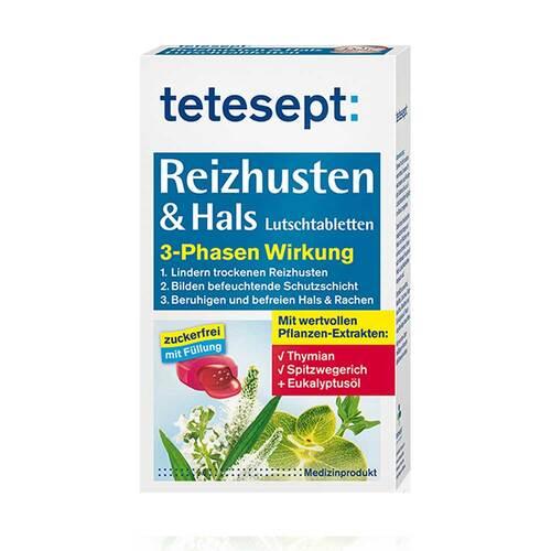 Tetesept Reizhusten & Hals Lutschtabletten - 1