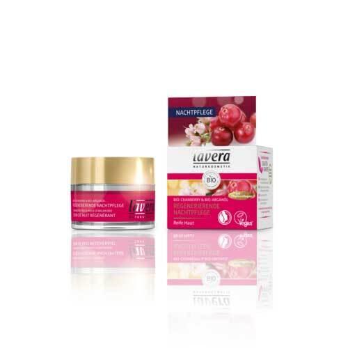 Lavera regenerierende Nachtpflege Cranberry Creme - 1