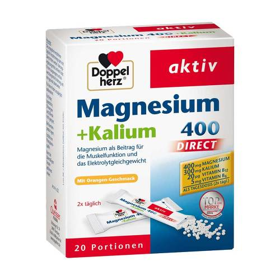 Doppelherz Magnesium+Kalium Direct Pellets - 1